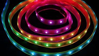 Addressable LED for AV