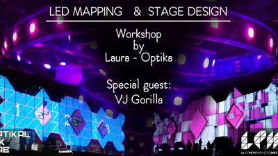 LED Mapping and Stage Design [€ 100]