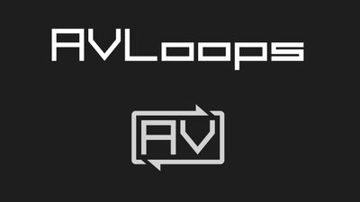 AVloops - visuals for music content marketplace
