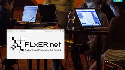 FLxER Video Mapping for kids