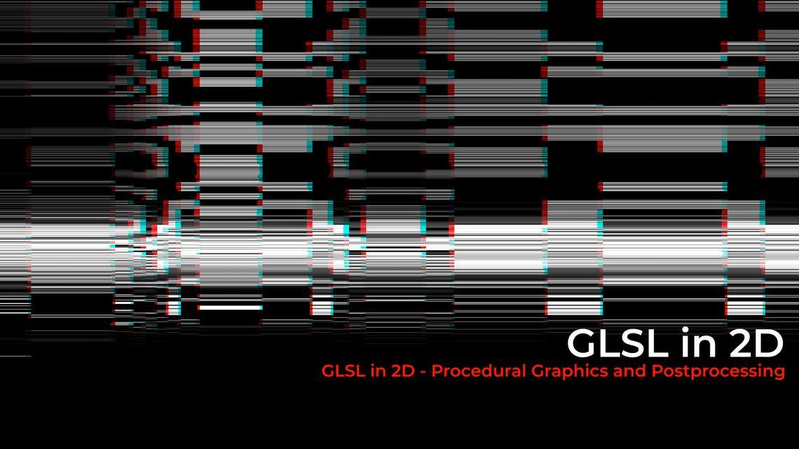 Program: TouchDesigner - 2D GLSL - Procedural Graphics   LPM