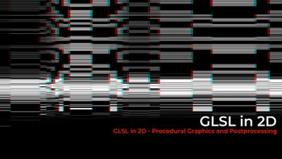 TouchDesigner - 2D GLSL - Procedural Graphics