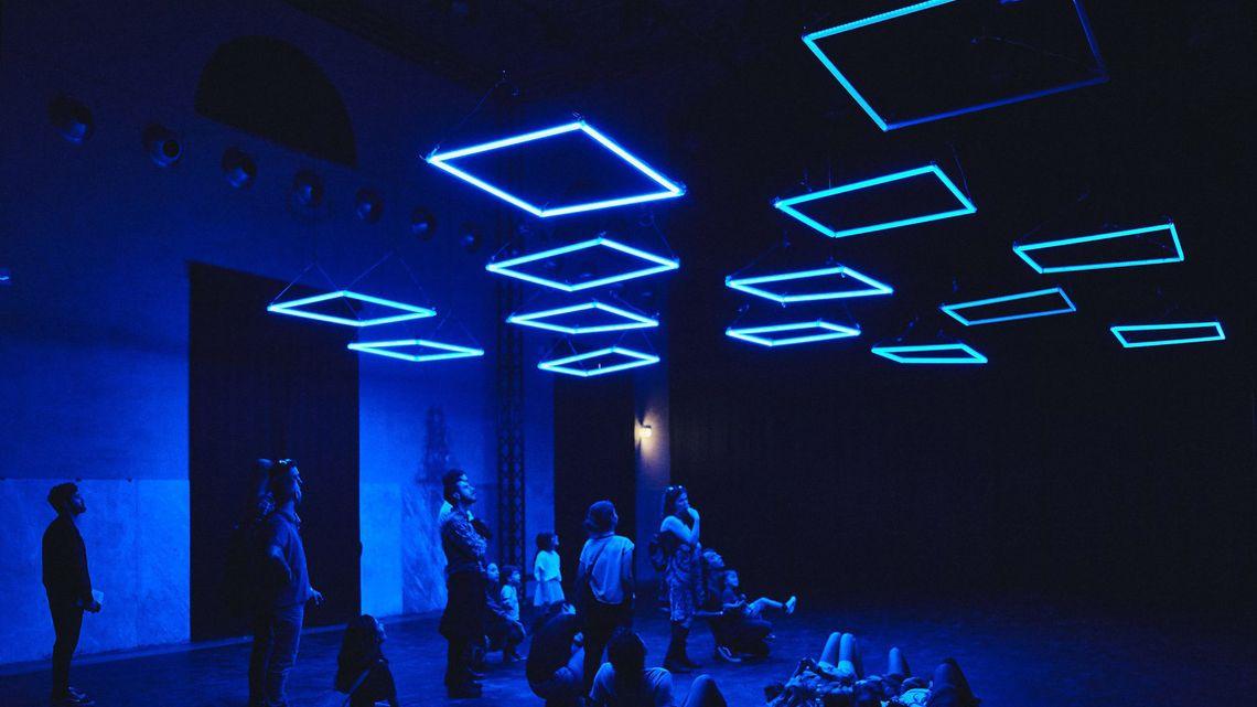 Lights Art con MadMapper