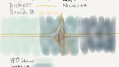 The Story of a Wave - livecode and graphic scores