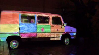 Sinapsi Videomapping Van