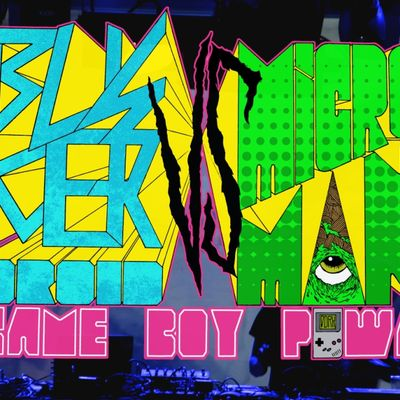 Buskerdroid VS Microman (Gameboyliveset) SecretLab (Gp2x VJset)