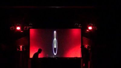 MDW - frankland oscillations live (live photo from Colston Hall, Bristol)