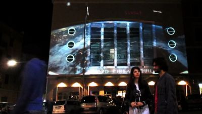 Pinball Video Mapping | LPM 2015 Rome
