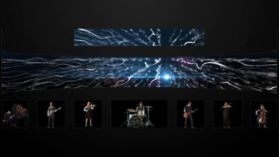 The Pure visuals played for the artistic item of leumi bank maazan event 2015