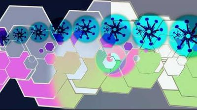 Glitch Girl DJ Mix with Moabyte Visuals
