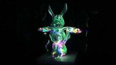 Rabbit Totem installation by Yotam Natan (my brother)