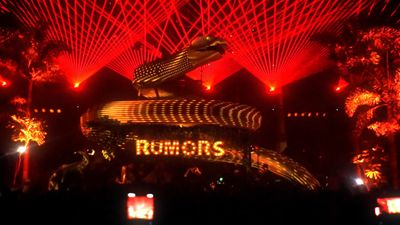 Our visuals & mapping on a Massive snake stage @ RUMORS TEL AVIV 2019